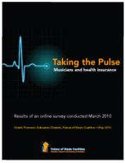 Taking the Pulse: a survey on musicians and health insurance