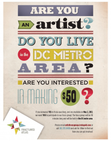 DC area artists needed for focus group about health care ...